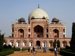 Humayun's Tomb. It's massive. A pre-cursor to the Taj Mahal.